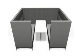 Huddle Cave Soft Seating - 6 seater
