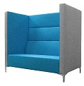 Huddle High Back Soft Seating - HX3 Three Seater