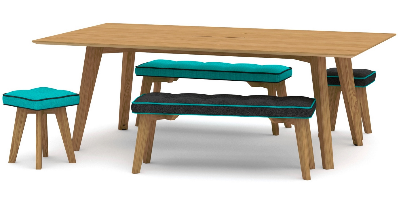 Jig Social Tables and Benches