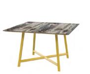 Relic 4 Leg Square Table Image