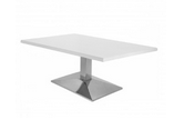 Wedge Chrome Table Image