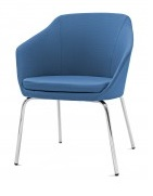 Yak Soft Seating - 4 Leg Base