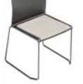 Artesia Meeting Chair - narrow seat pad