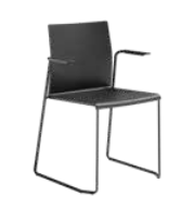 Artesia Meeting Chair Image - with arms