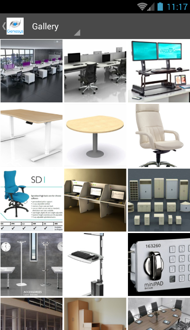 Genesys Office Furniture App - Screenshot 3
