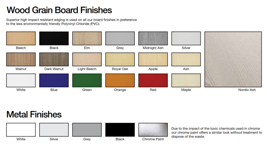 Deck Bench Finishes