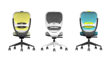 Oscar Meshback Task Chair Image - no arms