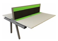 Evolution Bench Desk - Double Sided Add-On Modules