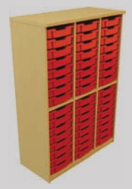 Storage Tray Unit - 48 Tray Static