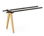 Evolution Bench 600mm Frame Ext Wood