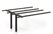 Evolution Bench 1600mm B2B Frame Steel Legs