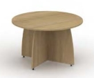 Reunion Panel End Leg Circular Table