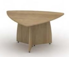 Reunion Panel End Leg Triangular Table