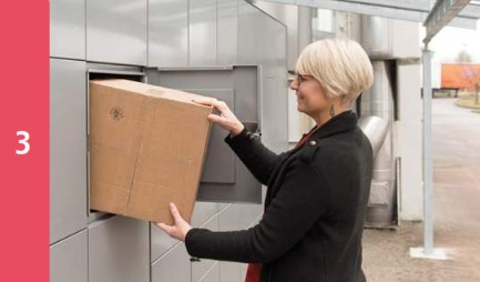 Intelligent Parcel Lockers - Parcel Collection