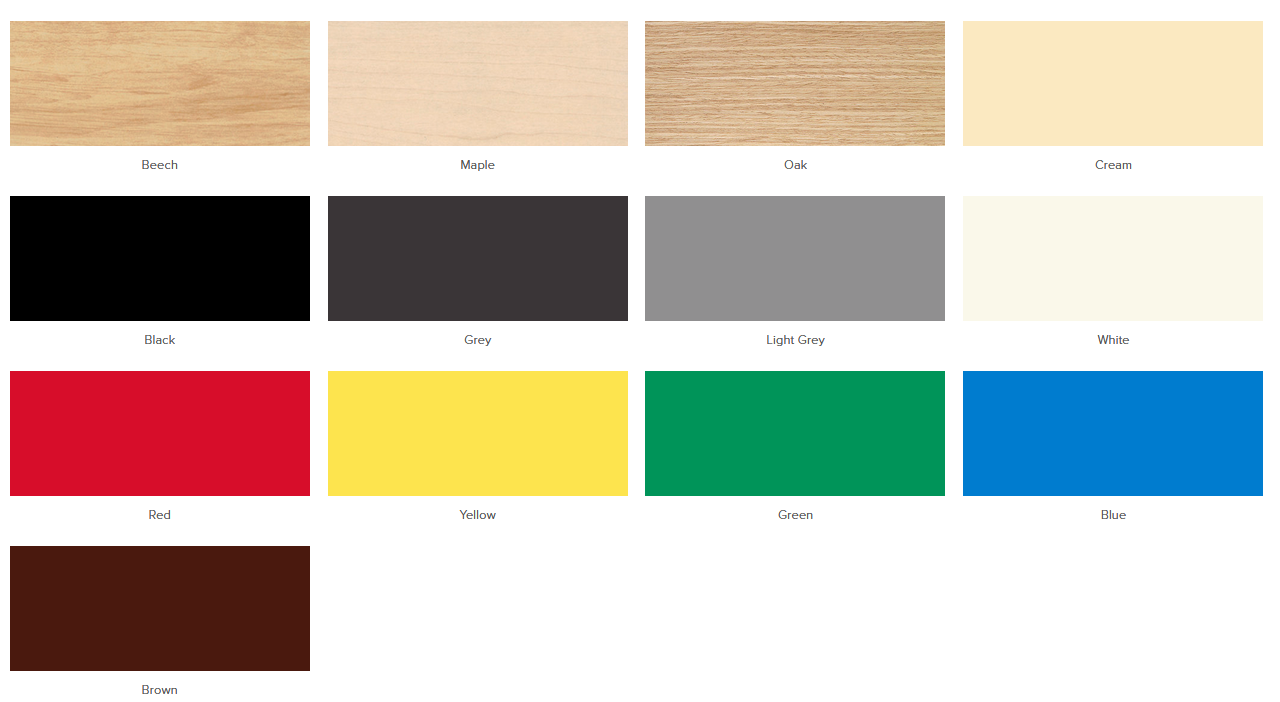Polly Soft Seating Laminate Table Colours
