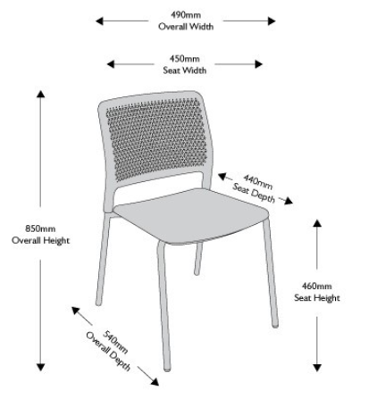 Grafton Chair Dimensions