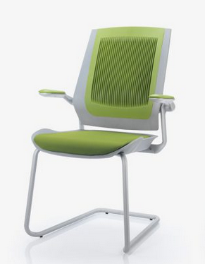 Bodyflex Visitor Chair Image - Cantilever with Arms