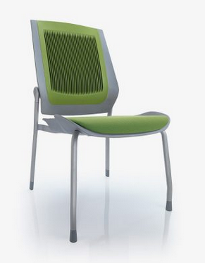 Bodyflex Visitor Chair Image - 4 Leg with Glides