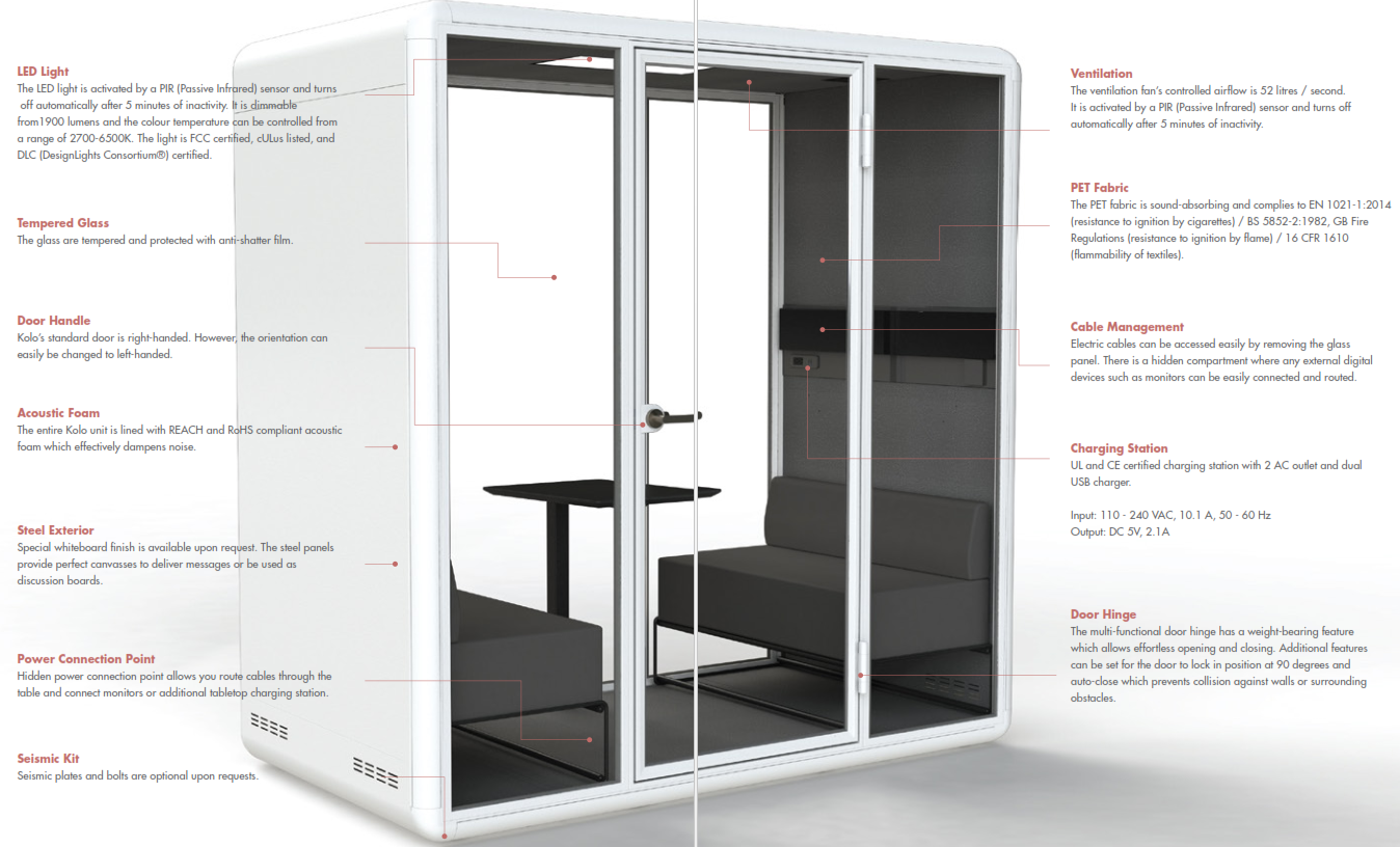 Kolo Duo Booth Features