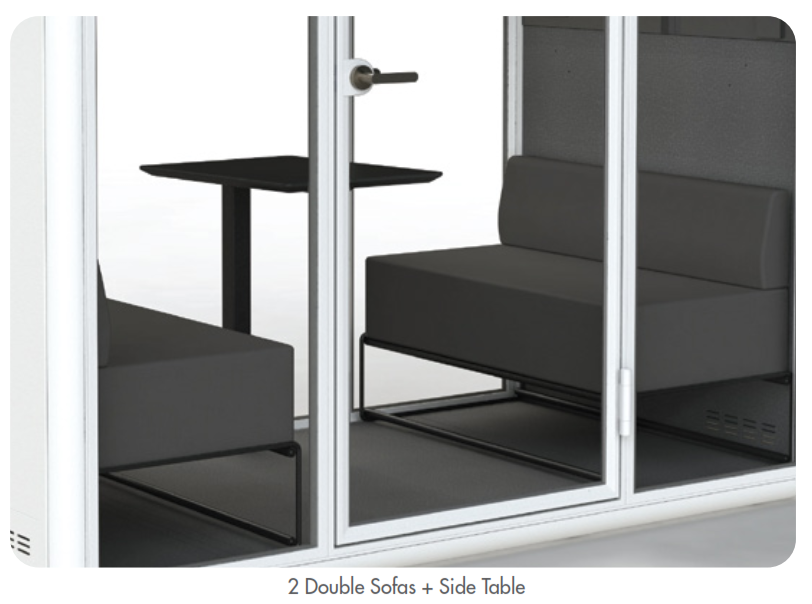 Kolo Duo Booth Sofa Set