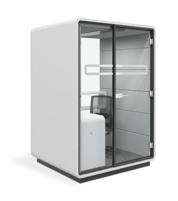 Acoustic Work Pod Image - White