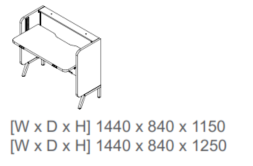 Stand Up Sit Stand Desk Dimensions