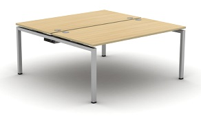 Aero Bench Desk - 2 Person Desk