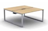 Arc Bench Desk | Arc Bench Desking - 2 Person Desk