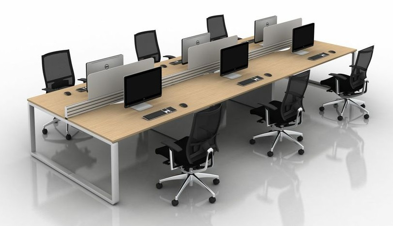 Arc Bench Desk | Arc Bench Desking