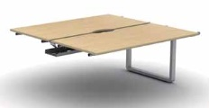 Arc Bench Desk | Arc Bench Desking - 2 Person Add-On Module