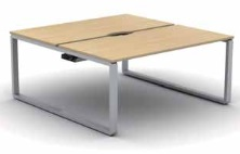 Arc Bench Desk | Arc Bench Desking - 2 Person Starter Module
