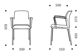 Class Breakout Chair Dimensions