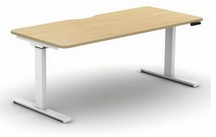 Electric Sit Stand Single Desk