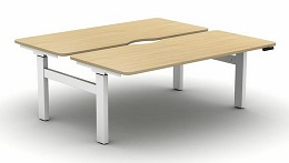 Move Height Adjustable Desks | Electric Back To Back Desk