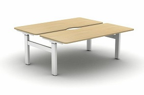 Move Height Adjustable Desks | Set And Forget Back To Back Desk