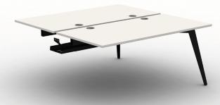 Pyramid Steel Bench Desk - B2B End Module