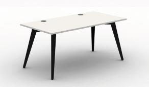 Pyramid Steel Bench Desk - Rectangular Desk