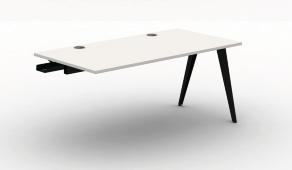 Pyramid Steel Bench Desk - Single Add on Module