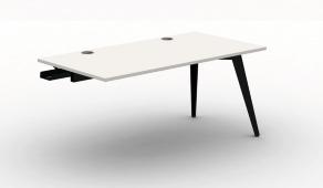 Pyramid Steel Bench Desk - Single End Module