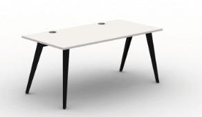 Pyramid Steel Bench Desk - Single Starter Module