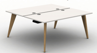 Pyramid Wood Bench Desk  - B2B Starter Module