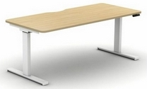 Sit Stand Single Desk