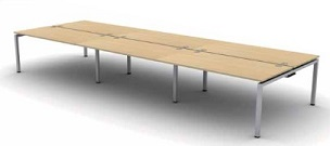 Soho2 Bench Desk | Soho2 Bench Desking - 6 Person Desk