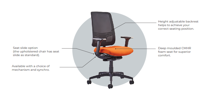 Absolute Task Chair Features