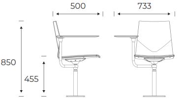 FourCast Inno®audi Dimensions FC2A1