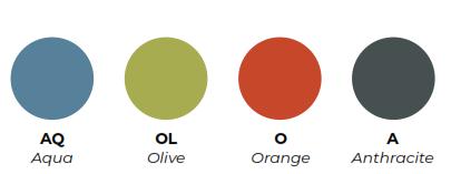 FourFold Table - Monochrome Frame Colours