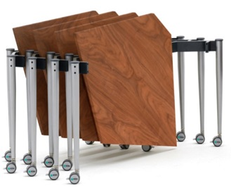 Kite Folding Tables - Stacked