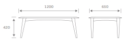 NOAHTAB Table Dimensions