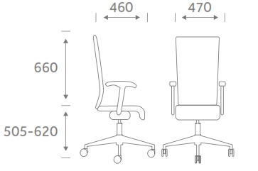 Poise Task Chair Models PS1