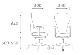 Sphere Task Chair Dimensions